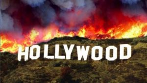 hollywood-inflames