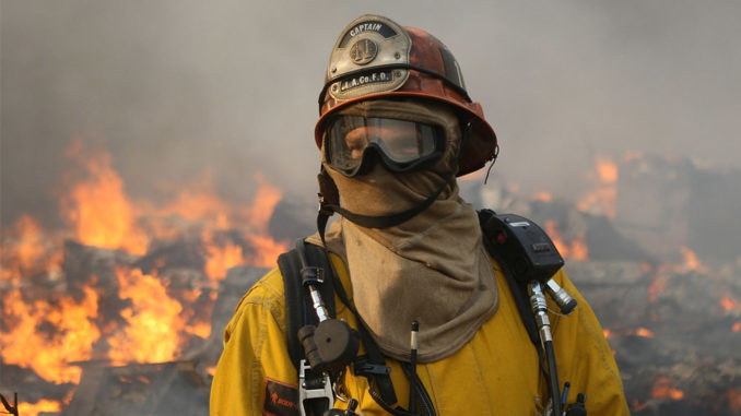 Breaking! California Firemen: Wildfires Caused by 'Directed Energy
